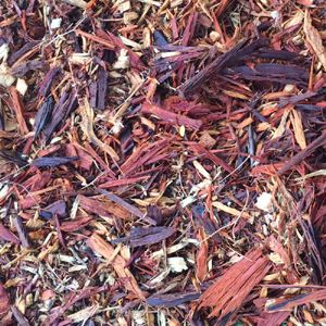 Picture of Red-Toned Mulch