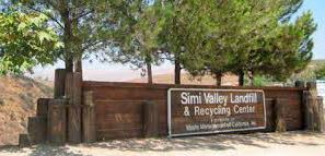 Entry Sign at the Simi Valley Landfill and Recycling Center