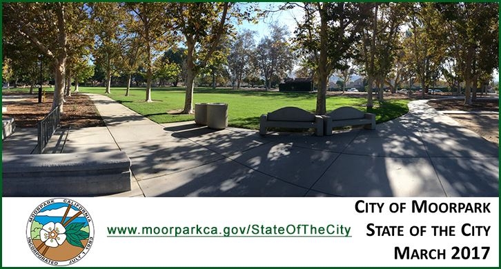 State of the City 2017 Address Cover Image of Park