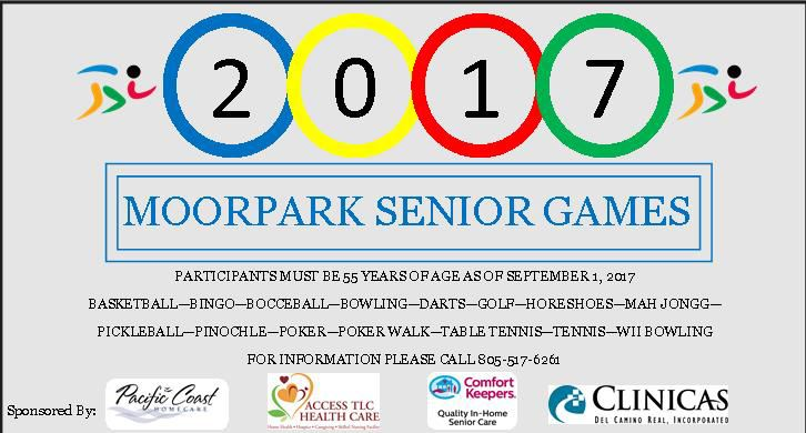 2017 Senior Games Coming Soon