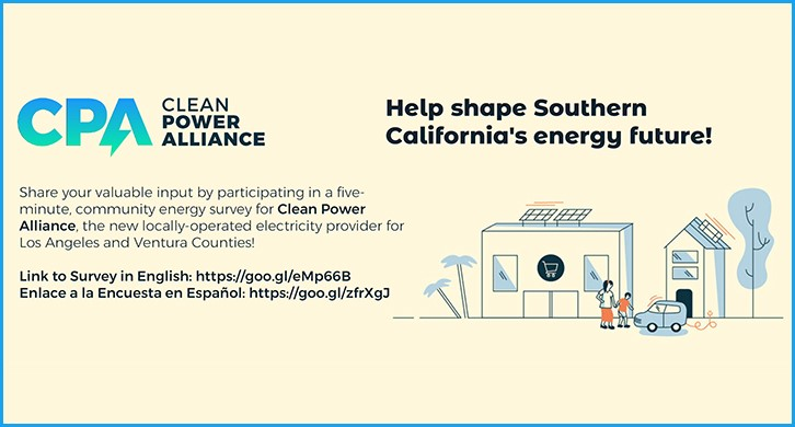 Take the Clean Power Alliance Survey
