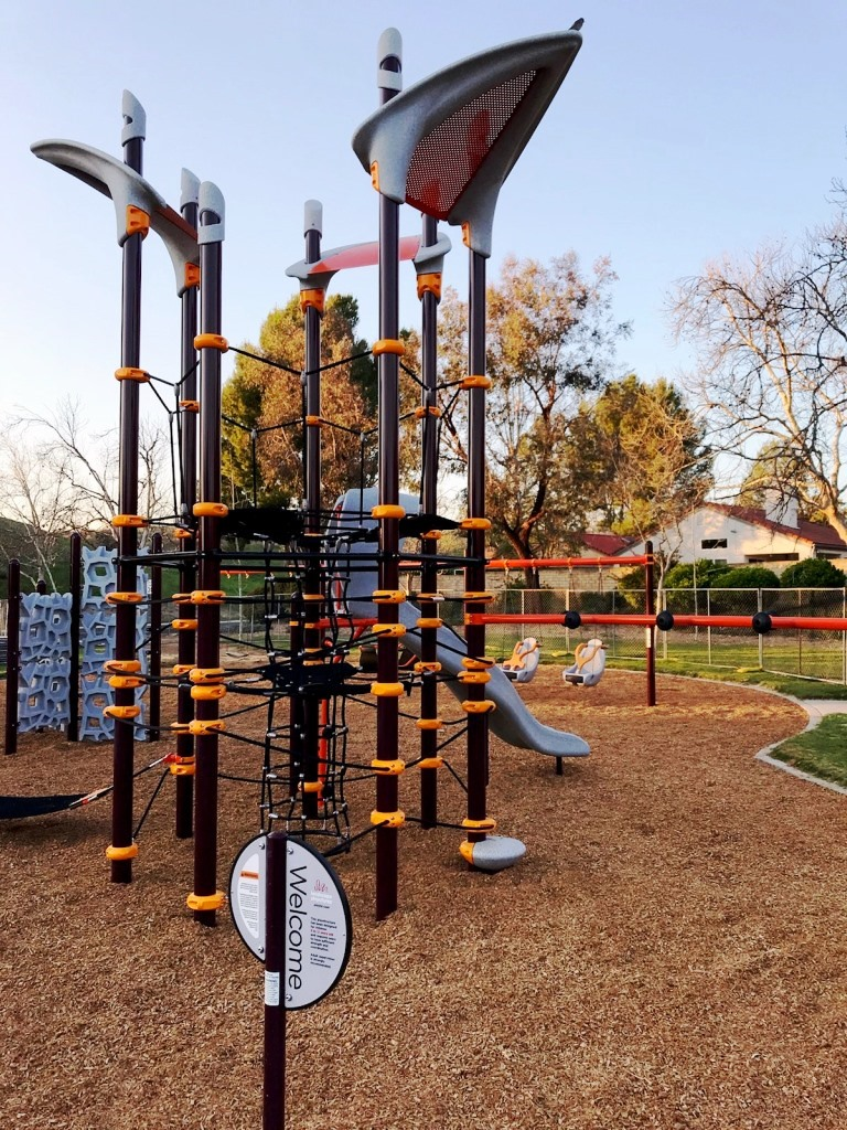 Play Equipment at Campus Canyon Park