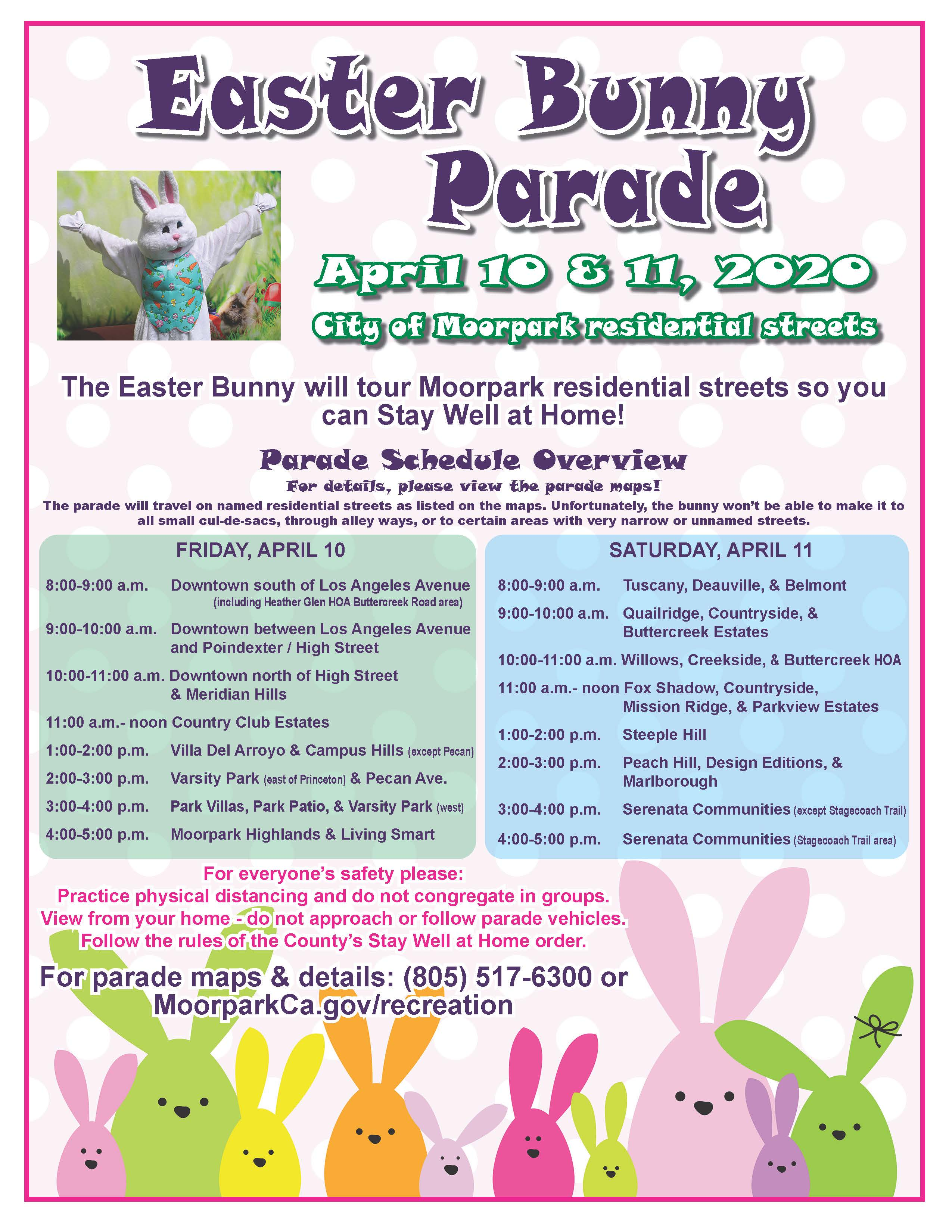 Bunny Parade Flyer 2020 Opens in new window