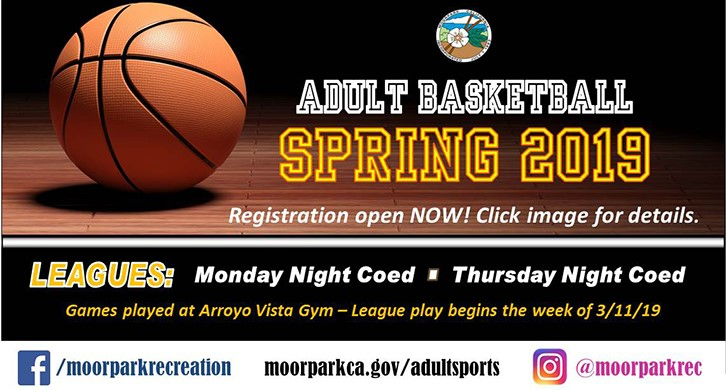 Sign up for Adult Basketball Leagues