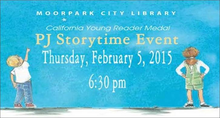california young readers medal pj storytime