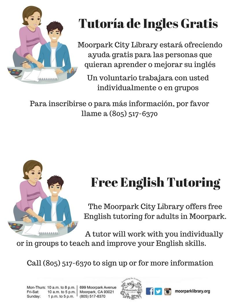 Free English Tutoring