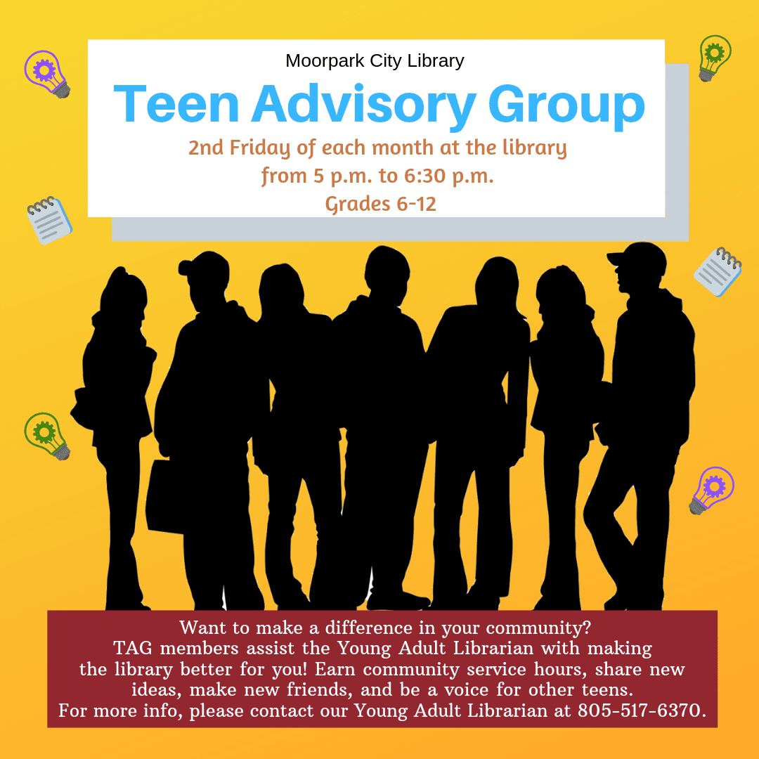 Teen Advisory Group banner