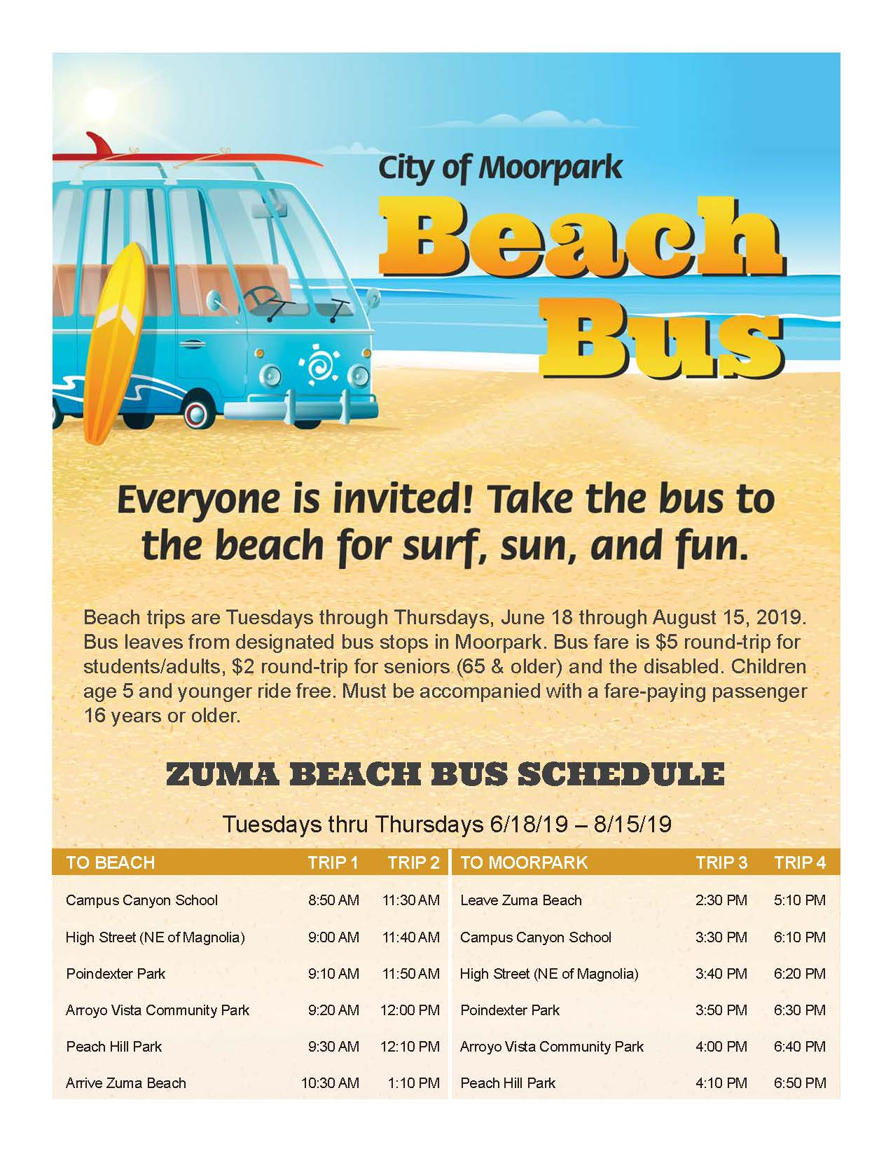 beach bus flyer 2019 PAGE 1