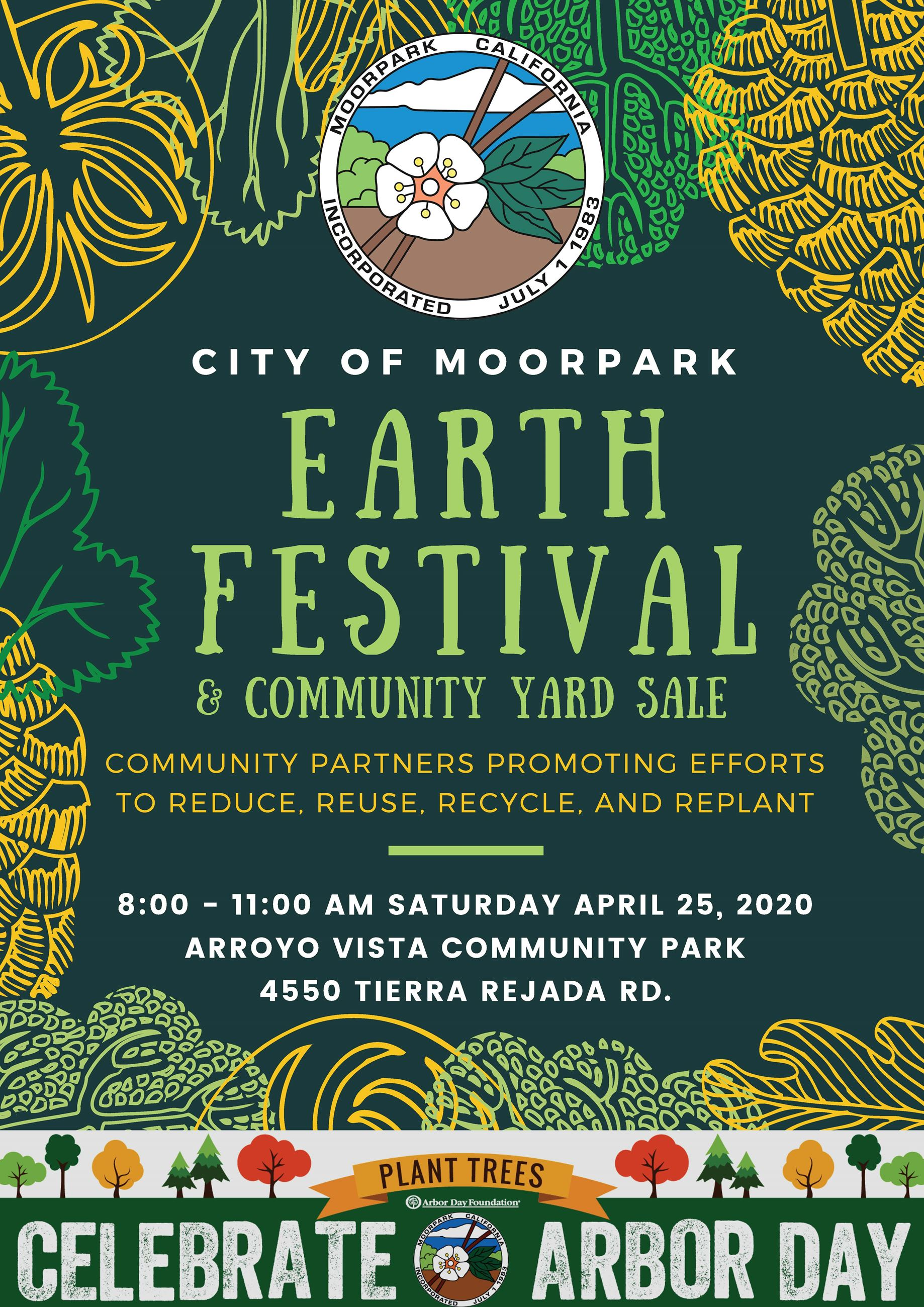 Moorpark Earth Festival Flyer Opens in new window
