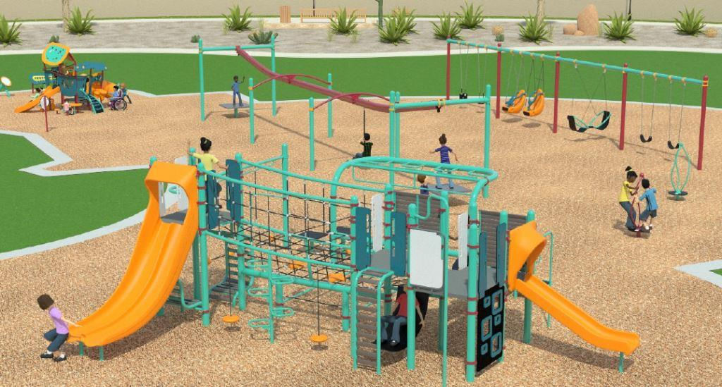 Miller Park Large Play Structure Diagram